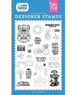 It's Summer Time Stamp Set - I Love Summer - Echo Park