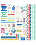 Splash Zone Doohickey Cardstock Stickers