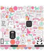 It's Your Birthday Girl Element Sticker - Echo Park