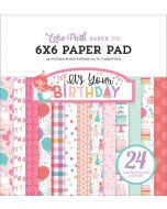"It's Your Birthday Girl 6"" x 6"" Paper Pad - Echo Park"