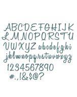 Script Alphanumeric Tim Holtz Font Set