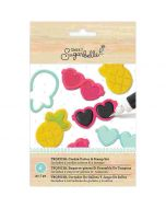 Tropical Cookie Cutter & Stamp Set - Sweet Sugarbelle