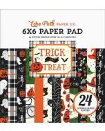"Trick or Treat 6"" x 6"" Paper Pad - Echo Park"