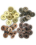 We R Memory Keepers Wide Eyelets - Warm Metal