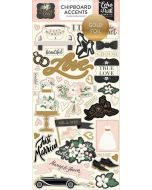 "Wedding Day 6"" x 13"" Chipboard Accent Stickers - Jen Allyson - Echo Park"