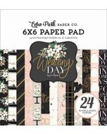 "Wedding Day 6"" x 6"" Paper Pad - Jen Allyson - Echo Park"