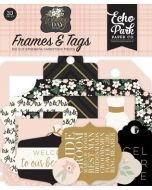 Wedding Day Frames & Tags - Jen Allyson - Echo Park