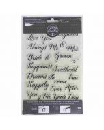 Kelly Creates Wedding Calligraphy Stamps