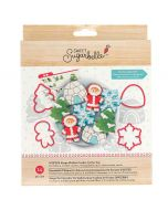 Sweet Sugarbelle Shape Shifters Winter cookie cutters