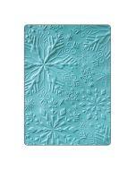 Winter snowflakes 3D embossing folder