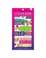 American Crafts Wishes for you Sticker book