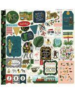 Animal Safari Element Stickers