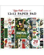 """Animal Safari 12"""" X 12"""" Paper Pad"""