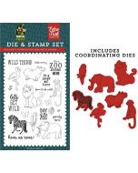 Wild Thing Die & Stamp Set