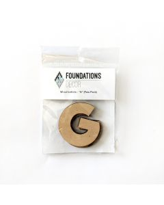 G Set of Wood Letters - Wood Banner - Foundations Decor*