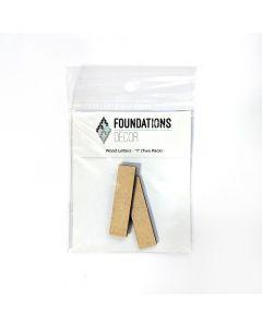 I Set of Wood Letters - Wood Banner - Foundations Decor*