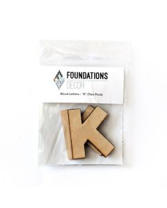K Set of Wood Letters - Wood Banner - Foundations Decor*