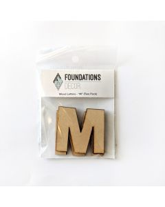 M Set of Wood Letters - Wood Banner - Foundations Decor*