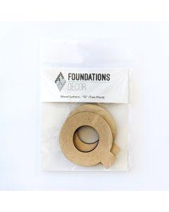 Q Set of Wood Letters - Wood Banner - Foundations Decor*