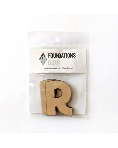 R Set of Wood Letters - Wood Banner - Foundations Decor*