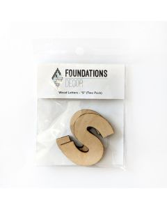 S Set of Wood Letters - Wood Banner - Foundations Decor*