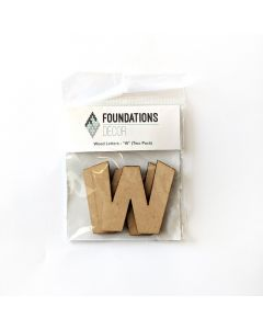 W Set of Wood Letters - Wood Banner - Foundations Decor*