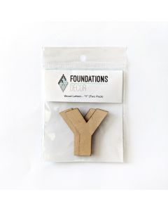 Y Set of Wood Letters - Wood Banner - Foundations Decor*
