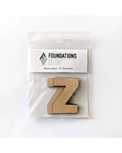 Z Set of Wood Letters - Wood Banner - Foundations Decor*