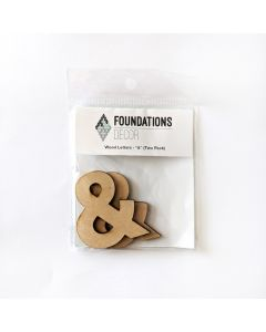 & Set of Wood Letters - Wood Banner - Foundations Decor*