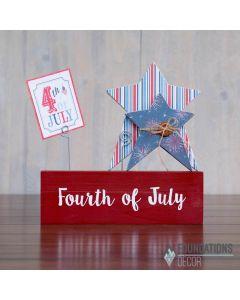 Fourth of July Vinyl - Foundations Décor