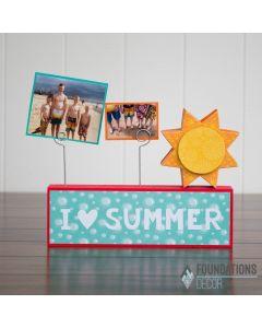 I Heart Summer Vinyl - Foundations Décor