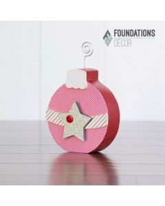 """December """"O"""" Ornament"""
