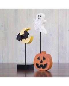Halloween Combo Unfinished Wood Craft - Halloween - Foundations Decor