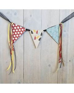 Hanging Pennant - Wood Banner - Foundations Decor