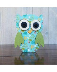 Owl Unfinished Wood Craft - Autumn - Foundations Decor