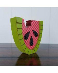 Watermelon Slice Unfinished Wood Craft - Foundations Decor