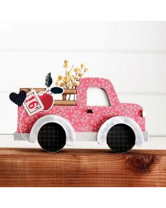 Pickup Truck Unfinished Wood Craft - Foundations Decor