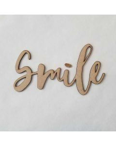 Smile Script Font - Wood Craft - Connected Words - Foundations Decor*