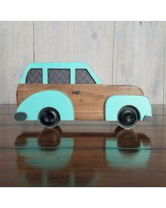 Vintage Car Unfinished Wood Craft - Autumn - Foundations Decor