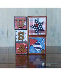 USA Blocks - Foundations Décor