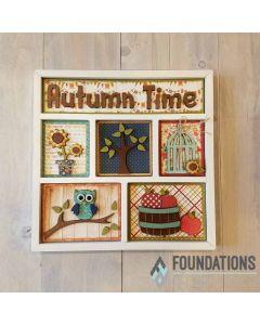 Autumn Time Shadow Box Kit - Foundations Décor