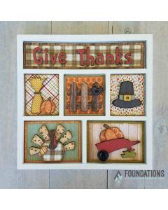 Thanksgiving Shadow Box Kit - Foundations Decor