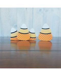 October Candy Corns - Barrel Topper - Foundations Decor*