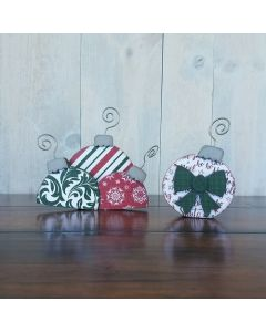 December Ornaments - Barrel Topper - Foundations Decor*