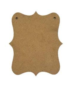 Fancy Bracket - Wood Banner - Foundations Decor*