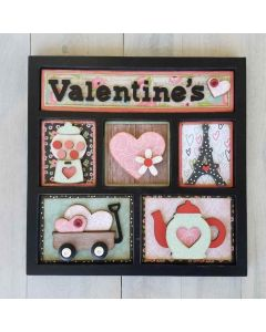 Valentine's Shadow Box Kit - Foundations Décor