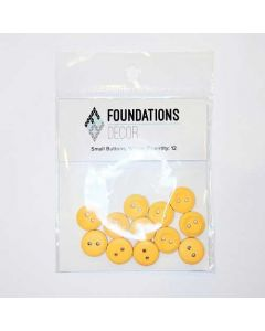 Yellow Buttons, Small Set - Foundations Decor