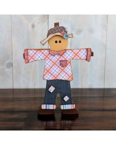 Scarecrow Unfinished Wood Craft - Foundations Decor