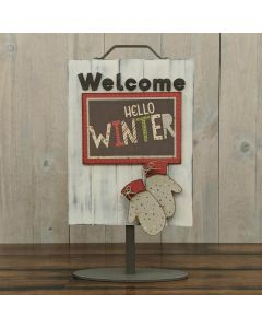 Mittens - Welcome Sign - Foundations Décor
