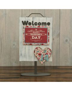 Heart - Welcome Sign - Foundations Decor